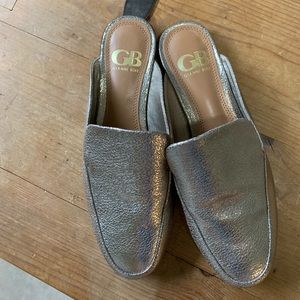 Gold GIANNI BINI loafers